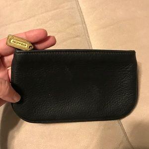 Coach Bags - Vintage Coach pebble leather pouch